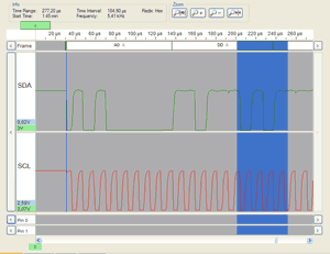 I2C Analyser and Interface Tracii XL 2 0 | telos · founded '88 | ISO